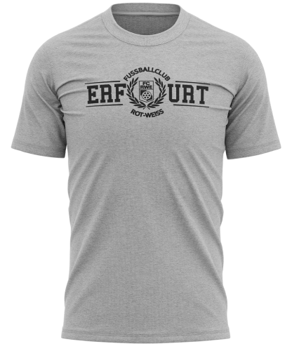 T-Shirt | College Logo | heather grey | FC Rot-Weiß Erfurt